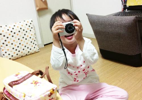 5歳になった娘にデジカメとEye-Fiを与えて子供視点の成長記録を残してみる
